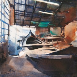"""""""Atelier gondole, Venise""""..."""
